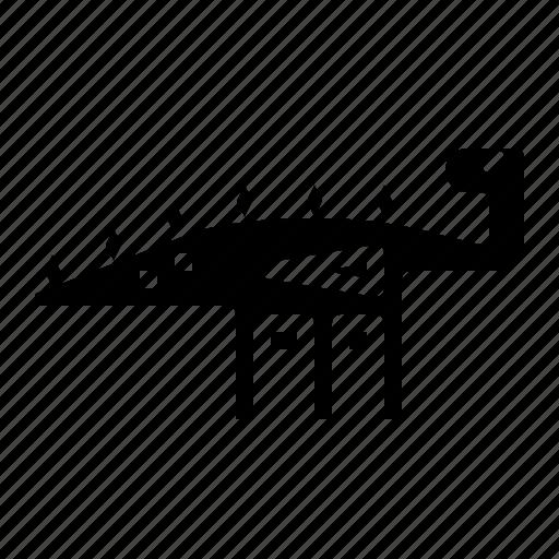 Animals, dinosaur, extinct, kentrosaurus icon - Download on Iconfinder