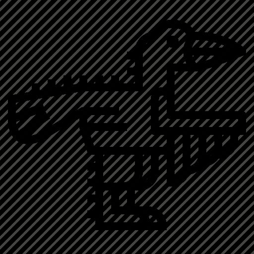 Animals, dinosaur, troodon, wildlife icon - Download on Iconfinder