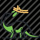 brontosaurus, dino, dinosaur, species icon