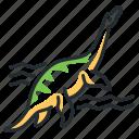 dino, dinosaur, plesiosaurus, species icon