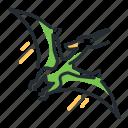 dino, dinosaur, pterodactylus, species icon