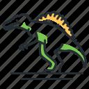 dino, dinosaur, species, spinosaurus icon