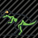 dino, dinosaur, species, t-rex icon