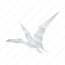 pterodactyl, origami, creative, jurassic, dinosaurs