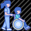 carer, caretaker, nurse icon