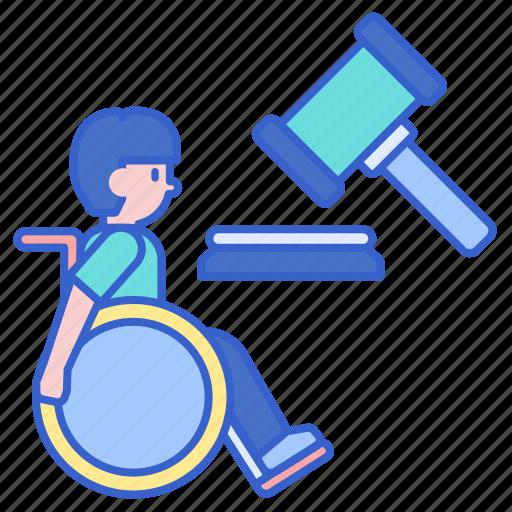 disability, law, legislation icon