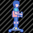 dynamic, parapodium, verticalizer icon