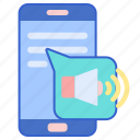 message, speech, text icon