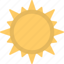 planet, sun, sunny, sunshine, weather symbol