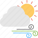 cloud and winds, cloudscape, day weather forecast, weather, weather forecast icon