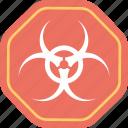 biohazard symbol, biohazards, biological hazard, biosafety, life science icon
