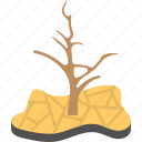 climate change, climatology, drought, natural disaster, weather atmospheric icon