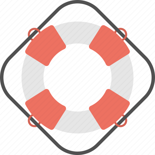 life donut, life preserver, life ring, lifebuoy, lifesaver, ring buoy icon