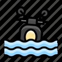 disaster, drowning, emergency, flood, motor, rain