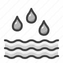 disaster, drowning, emergency, flood, rain