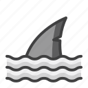 disaster, drowning, emergency, flood, rain, shark