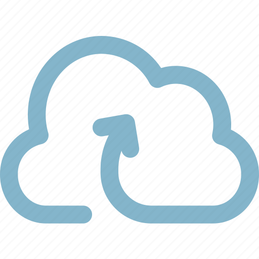 backup, cloud, data, disaster, recovery, to, upload icon