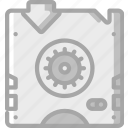 backup, data, disaster, recovery, restore, tape icon