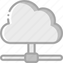 backup, cloud, data, disaster, recovery, storage icon