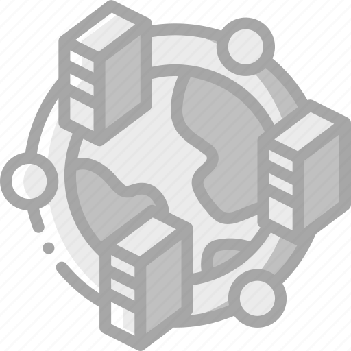 backup, data, disaster, multiple, recovery, sites icon