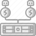 backup, data, disaster, power, recovery, supplies icon
