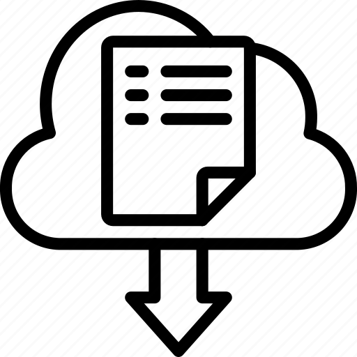 back up, backup, cloud, data, disaster, download, recovery icon