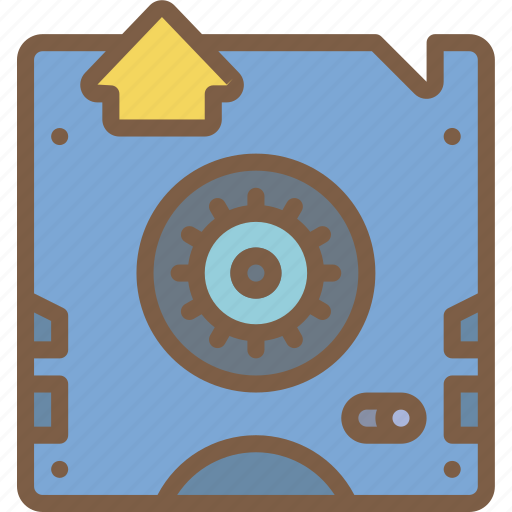 back, backup, data, disaster, recovery, tape icon