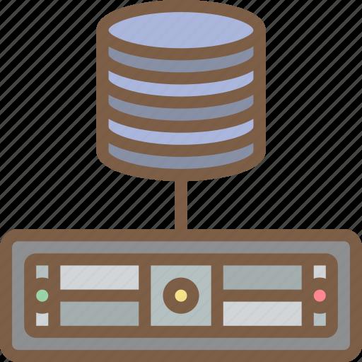 backup, data, database, disaster, recovery, server icon