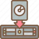 disaster, backup, image, restoer, disk, data, recovery icon