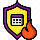 backup, data, disaster, protected, recovery, website icon