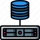 backup, data, database, disaster, recovery, server icon