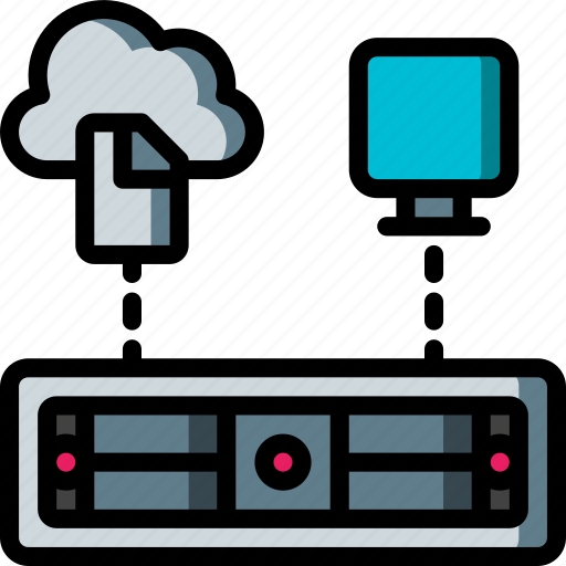 backup, cloud, data, disaster, recovery icon