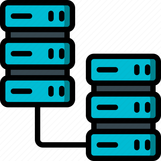 backup, data, disaster, recovery, replication, server icon