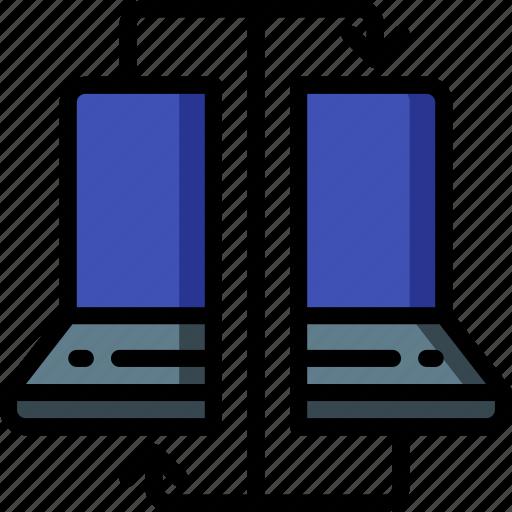 backup, clone, data, disaster, machine, recovery icon