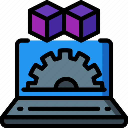 backup, data, disaster, recovery, settings, vm icon