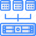 recovery, data, server, shared, backup, disaster icon