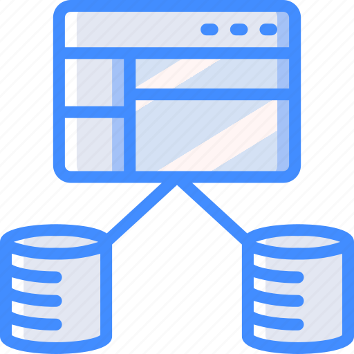 backup, data, database, disaster, recovery icon