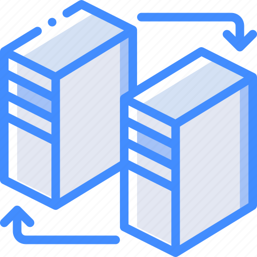 backup, data, disaster, recovery, replication icon