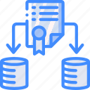 disaster, certificate, securty, backup, data, recovery icon