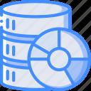 management, disaster, database, backup, data, recovery icon
