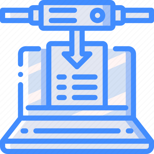 backup, data, disaster, download, recovery, remote, server icon