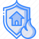 disaster, backup, site, protected, data, recovery icon
