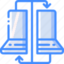 backup, clone, data, disaster, machine, recovery icon