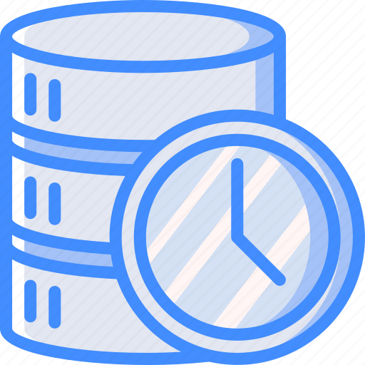backup, data, db, disaster, recovery, replication, scheduled icon