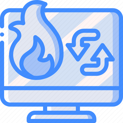 backup, data, disaster, machine, recovery, restore icon