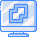 disaster, backup, vm, manager, data, recovery icon