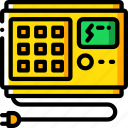 backup, data, disaster, recovery, ups icon
