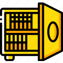 backup, data, disaster, recovery, safe, tape icon