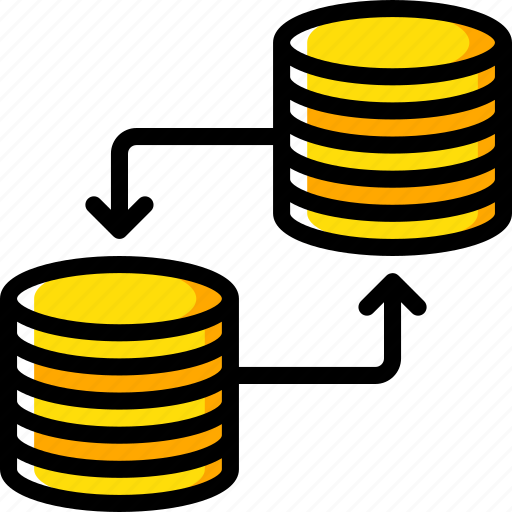 backup, data, database, disaster, recovery, replication icon