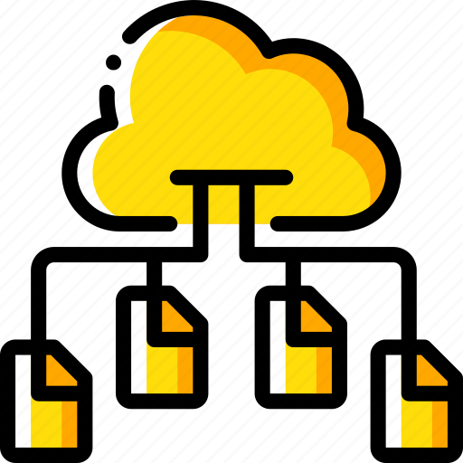 backup, cloud, copies, data, disaster, multiple, recovery icon